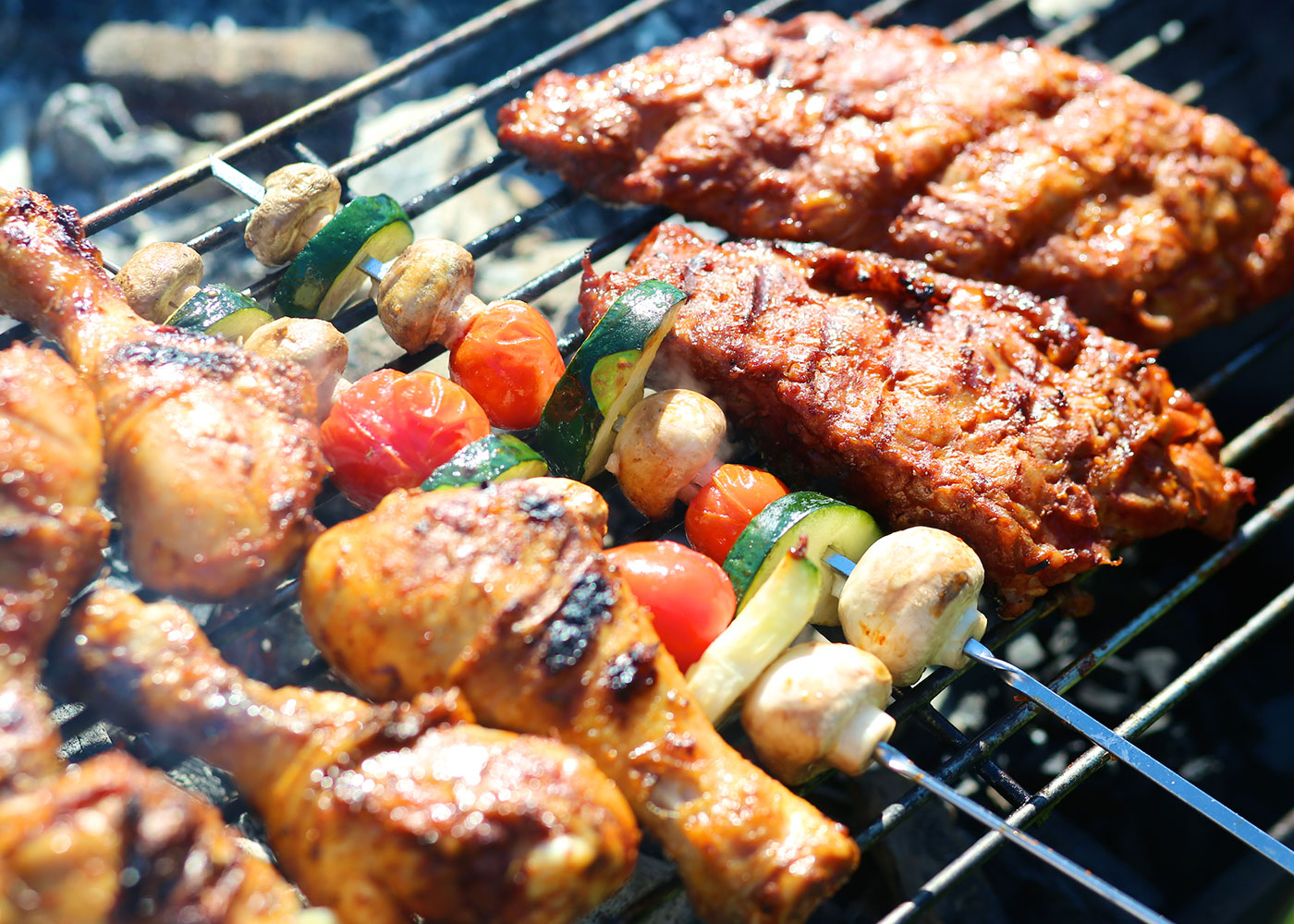 Barbecue arrangement